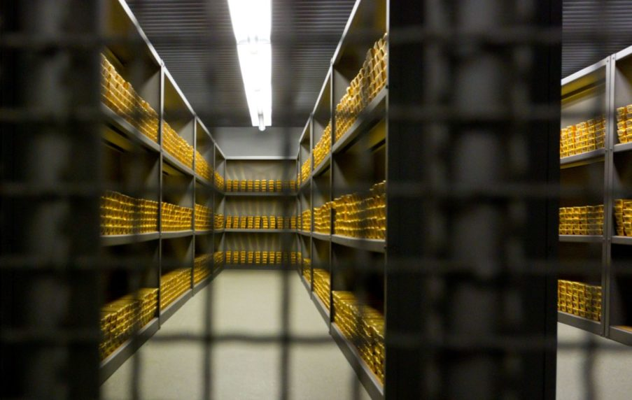 Gold als Währungsreserve der Bundesbank