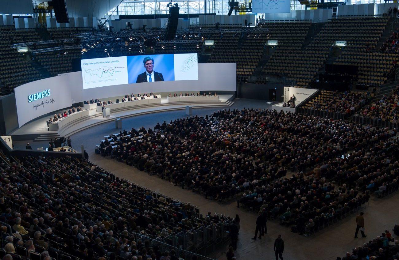 Dividende Siemens Hauptversamlung