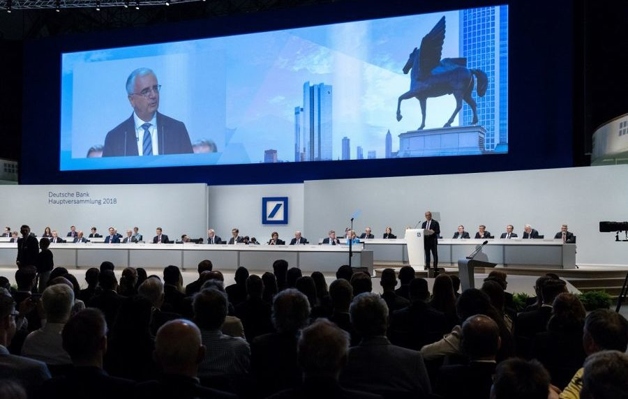 Kein Kandidat mehr für eine Dividendenstrategie: Die deutsche Bank hat 2019 die Dividende für die nächsten zwei Jahre gestrichen